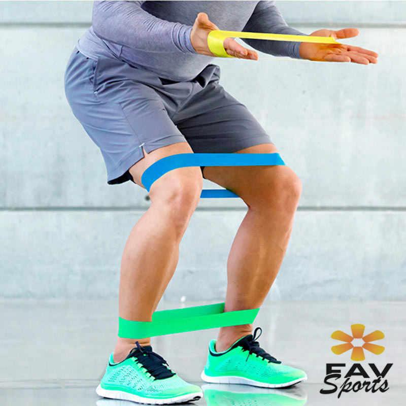 1 zestaw/3 sztuk zespoły zestaw Gym Fitness szkolenia joga siły pętli opaski gumowe akcesoria Fitness 3 poziom odporność na treningu opaski