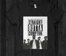 N.W.A - T-Shirt Straight Outta NWA Ice Cube Dr Dre Eazy DJ Yella Mc Ren Cartoon Print Short Sleeve T Shirt Free Shipping худи eazy way eazy way mp002xw0zx31