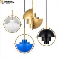 Подвесные светильники люстры desgin Кулон Светильник Hanglamp Алюминий абажур светильника Освещение для обеденной светодиодный домашнего освеще
