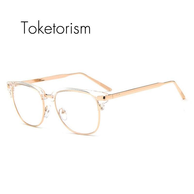 Tienda Online Toketorism medio marco metal gafas transparente gafas ...