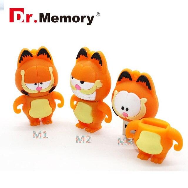 Aliexpresscom Comprar Garfield gato divertido pen drive de