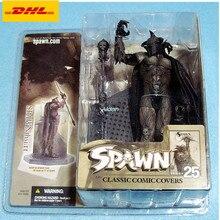 """"""" Мстители Spawn 25 поколение Ворон голова буйвола подарок на день рождения ПВХ фигурка Коллекционная модель игрушки коробка 15 см B747"""