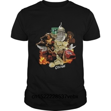 Funny Men t shirt Women novelty tshirt migos culture cool T-Shirt(China) 595336ed6ec9