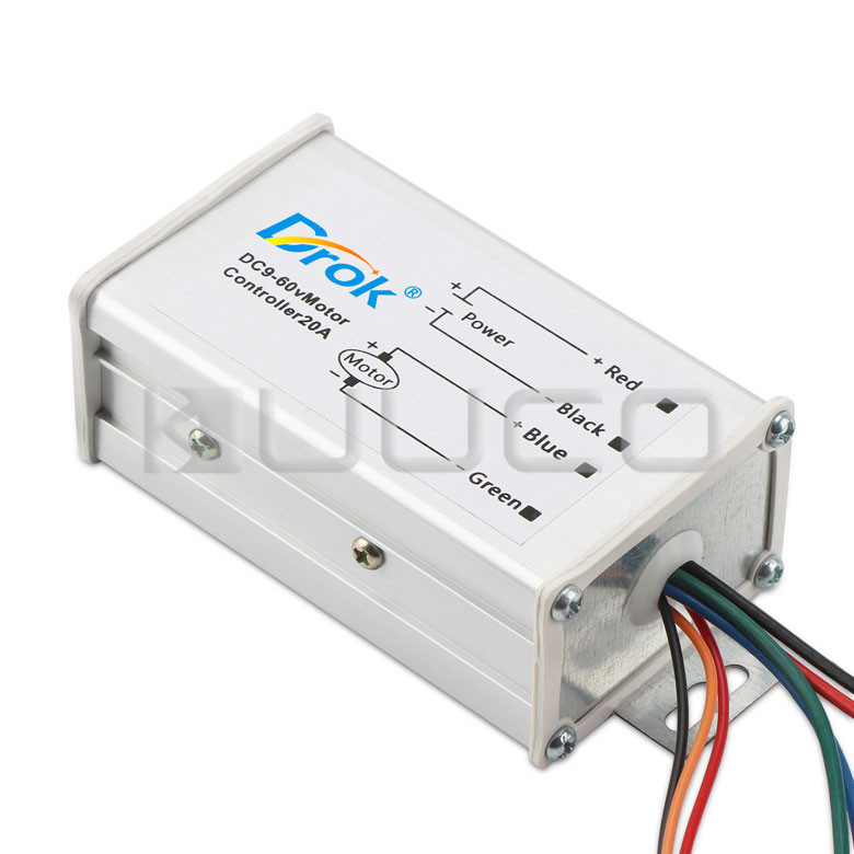 Ambitious 5 Pcs/lot Dc Controller Dc 9~60v 20a Power Supply Module/pwm Regulator/dc Motor Speed Controller/pwm Control Module/driver Motors & Parts