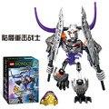 El guerrero esqueleto educativos building blocks juguetes BIONICLE soldados Bioquímicos, modelo del robot. regalos para los niños.