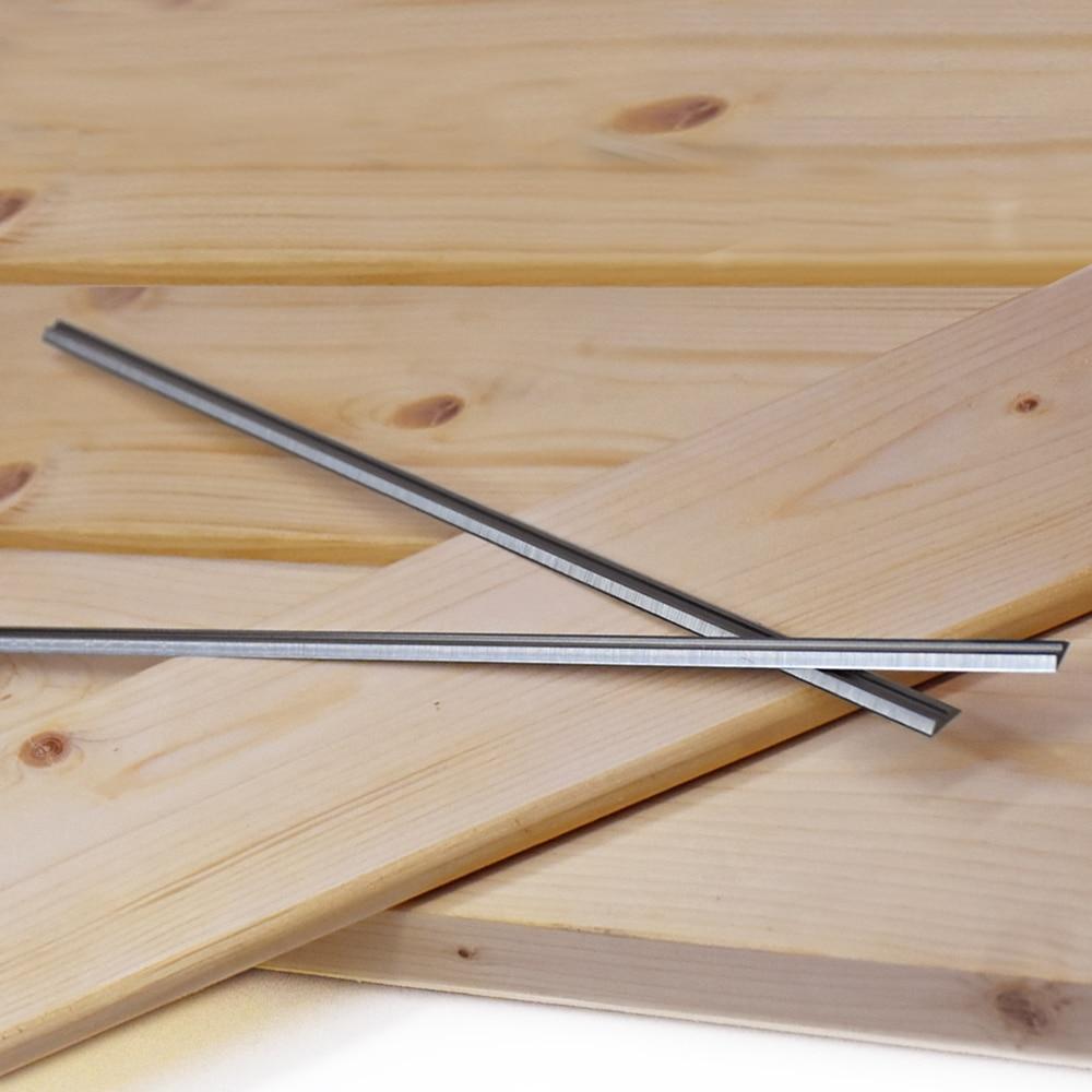Coltello per pialla in legno reversibile spessore 12