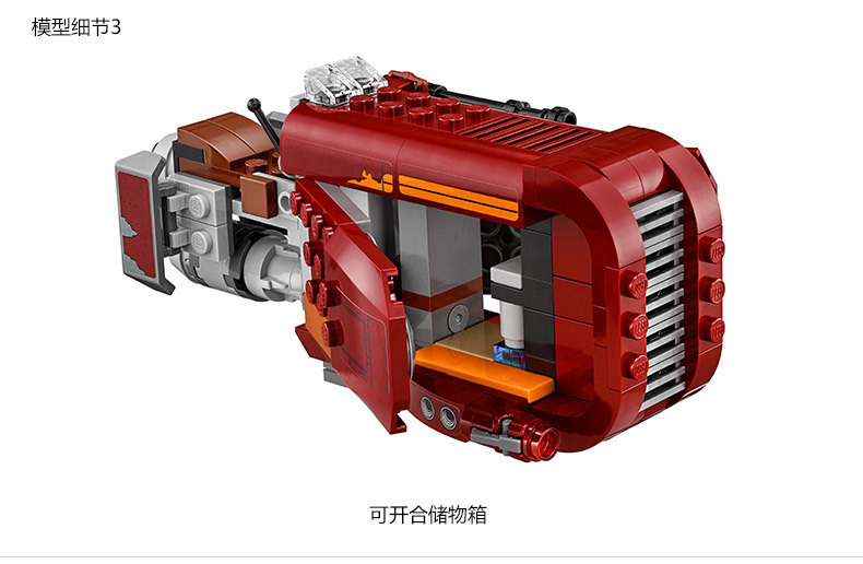 05011 Star Wars REY Minifigure building Blocks set Bricks Toys The Force Awakens Compatible