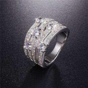 691e406077e4 Sona no falso S925 anillo de plata esterlina SONA diamante VS claridad 0