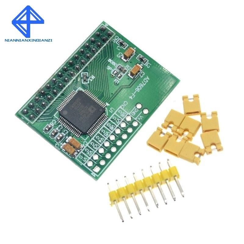 16 bit ADC 8CH Sincronizzazione AD7606 Modulo di Acquisizione DATI 200 Ksps16 bit ADC 8CH Sincronizzazione AD7606 Modulo di Acquisizione DATI 200 Ksps