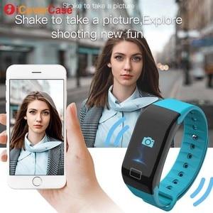 Image 5 - עבור סמסונג גלקסי A10 A20 A20e A30 A40 A50 A60 A70 A80 M10 M20 M30 חכם שעון צמיד עמיד למים לב שיעור ספורט Wristbands