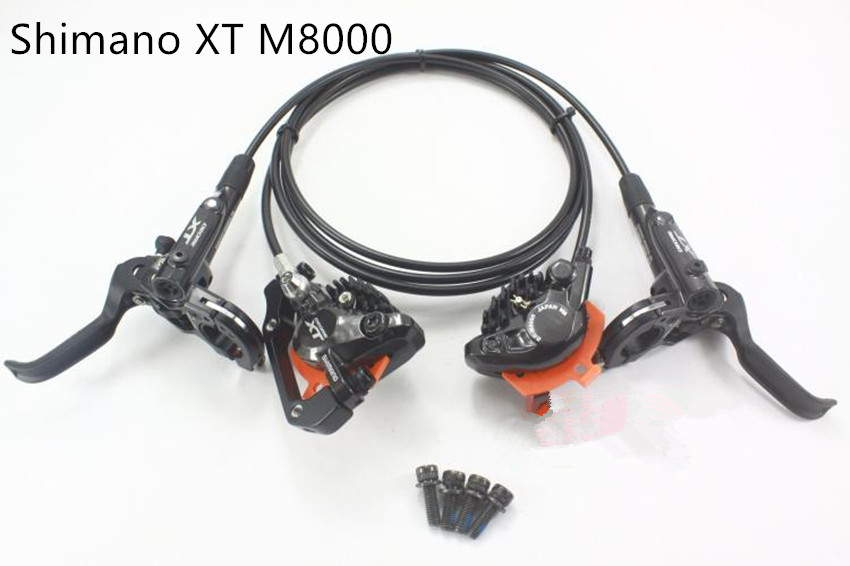 Shimano Deore XT M8000 Hydraulic Disc Brake Set Brake Lever M8000 Hydraulic Disc Brake Black ICE