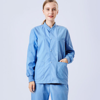 New Arrival Surgical Gown Medical Lab Coat Tops Doctor Nurse Jacket Work Clothes Beauty Salon Uniform Jackets Hospital Outfits