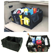 Folding Collapsible Sturdy&robust Car Storage Box Car Organiser Shopping Tidy Collapsible Foldable Space Save Storage Box CB002