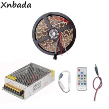 1m 2m 3m 4m 5m WS2812B WS2812 RGB Led Strip Light With SP103E 14Keys Remote Controller Power Supply Kit