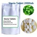 Envío gratis 2000 unids/bolsa 0 calorías de azúcar stevia edulcorantes de Stevia extracto Natural sin Grasa