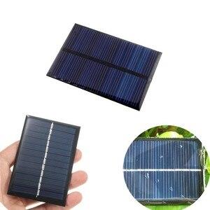Image 5 - 6V 0.6W Panel słoneczny Panel na energię słoneczną Poly moduł DIY mała ładowarka telefonu komórkowego na lekki telefon zabawka przenośna Drop Shipping