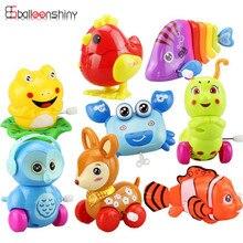 BalleenShiny Mini Baby Clockwork Spring Toys Kids Developmen