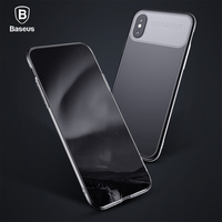 Baseus Luxury Armor Case For IPhone X Ultra Thin TPU PC Double Protection Back Phone Case