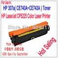 Para Impressora HP 307A CE710A CE740A CE741A CE742A CE743A Cartucho de Toner, para HP CP 5225 5220 CE 740A 741A 742A 743A chip De Redefinição de Toner