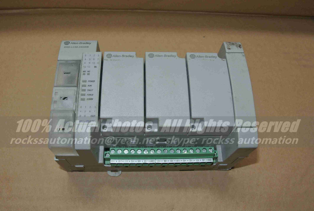 Module 2080-LC50-24QWB Used In Good Condition With Free DHL / EMS a171scpu used in good condition with free dhl ems