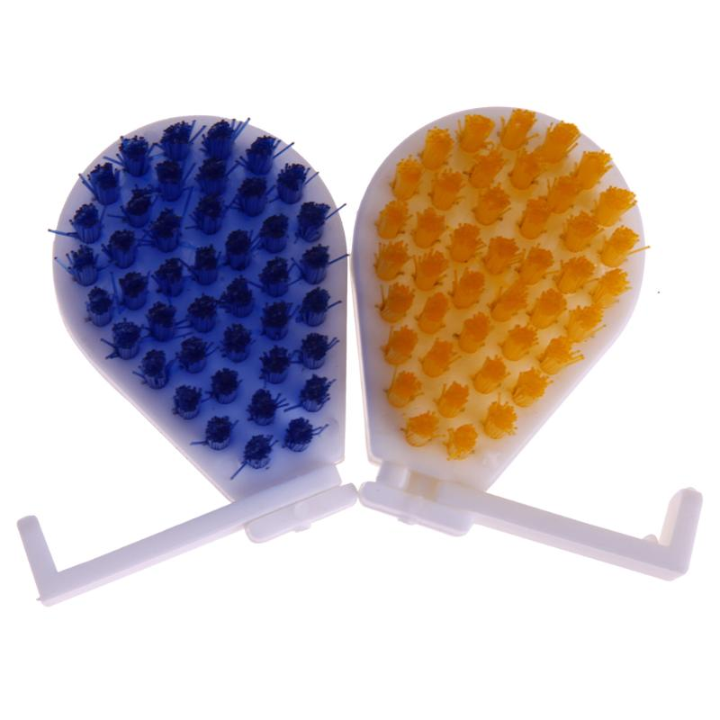 2pcs/set Reusable Remover Brush ABS Metal Rust Remover Cleaning Brushes Useful Kitchen Bathroom Clean Tools Stick Wash Brush