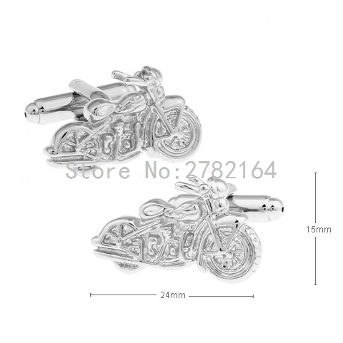 Modelling of motorcycle metal cufflinks sleeve nail factory direct sale free shipping