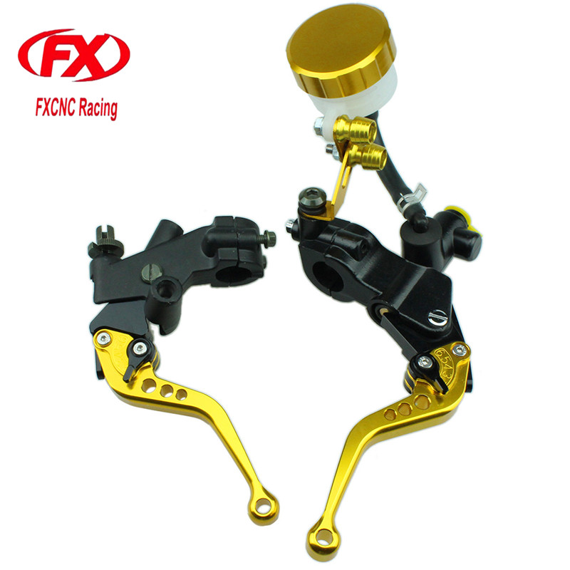 125-600cc Motorcycle Brake Clutch Levers Master Cylinder Hydraulic Brake Cable Clutch For Hyosung GT250R 2006 - 2010 2009 2008 motorcycle hydraulic brake clutch master cylinder reservoir levers 125cc 600cc for kawasaki zrx1100 zrx1200 zg1000 1992 2006