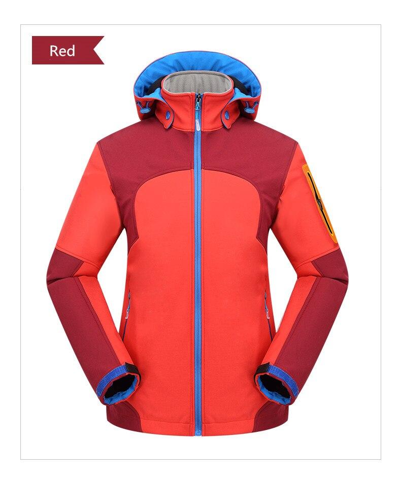 Veste extérieure coupe-vent imperméable manteau femmes Sport vestes randonnée Camping hiver thermique polaire veste Ski vêtements