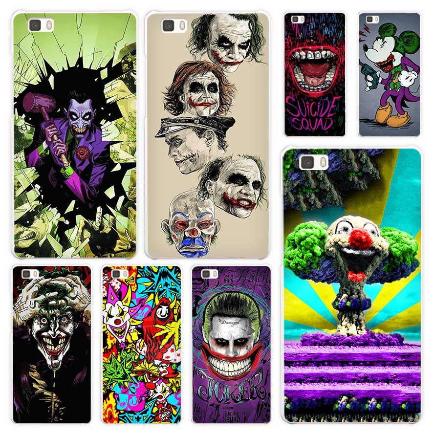 Joker Batman The Killing Joke White Coque Shell Case Cover Phone Cases for Huawei P7 P8 P9 P10 Lite Mate s 7 8 9