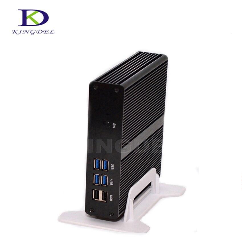 Best Price Intel Celeron 2955U/3205U Inte HD Graphics WiFi HDMI VGA LAN USB 3.0 Mini Itx Computer NC590