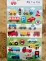 Pretty Cartoon Toy Car Printed Felt Sticker DIY Nonwoven Felt Fabric