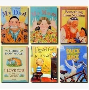 6pcs/set English Children's Picture Book Original Parragon Enlightenment Warm Parent-Child Storybook Reading Free Shipping