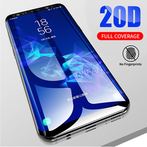 Tempered Glass Case for Samsung S10 Plus S10e Phone Cover Protective Glas Screen Protector on Galaxy S10 E S 10 S10plus 10s Film(China)