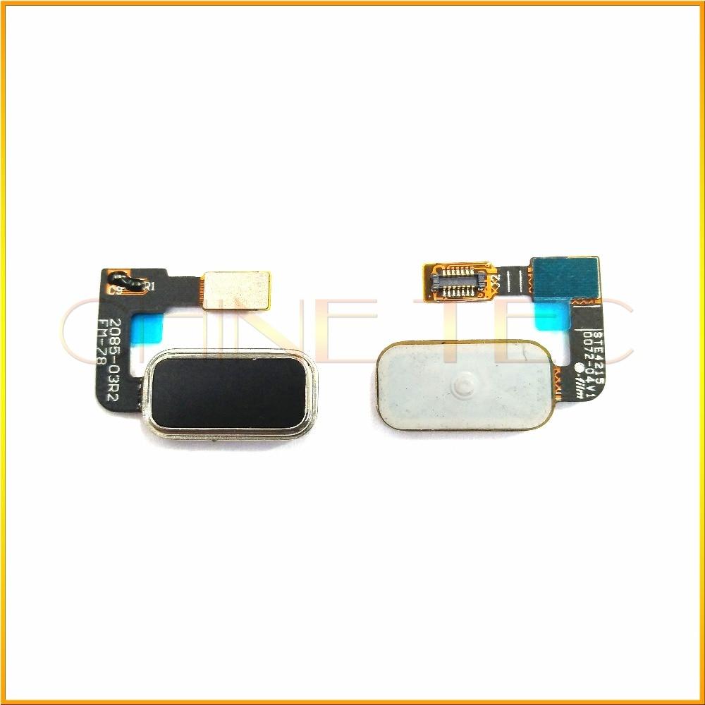 imágenes para 1x original de lenovo vibe p1 p1c58 p1c72 sensor de huellas dactilares escáner lock touch id volver flex cable botón de inicio