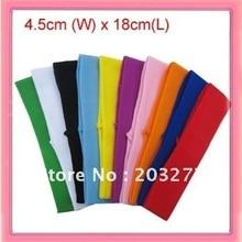 1,7 дюймов широкоформатный нейлоновые оголовья Уход за волосами, bands36pcs/сумка может иметь разные цвета