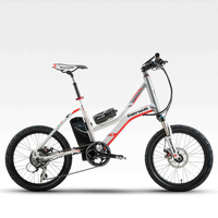 Electric mountain bicycle Ebike 36v Motorcycle electric bicycle 20 inch lithium mini Bicycle electric bicycle mountain bike