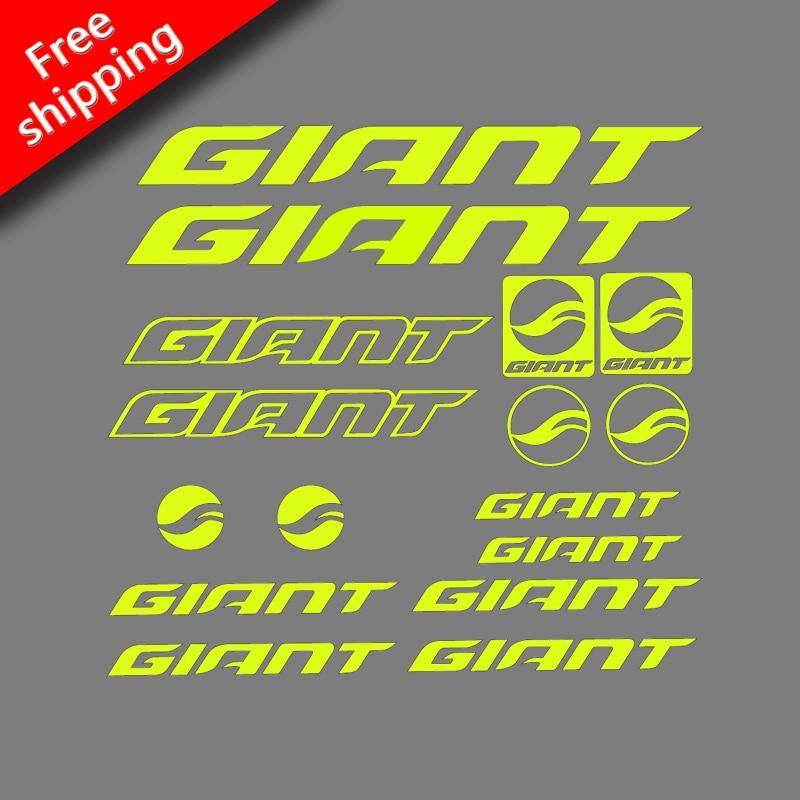 Adesivos gigantes/decalques de bicicleta de estrada/bycicle/mountain bike para mtb ciclismo corrida frete grátis