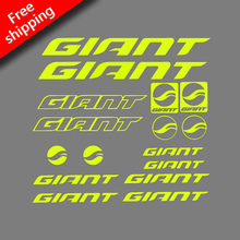 GIANT Rack Sticker for Road bike MTB Mountain Bike cycling Frame paint protection vinyl decal GIANT DIY Frame Reflective KIT