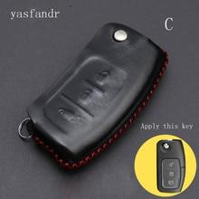 car accessories araba aksesuar Key Case cover Car Smart For Ford Fiesta Focus 2 Ecosport Kuga Escape  Flip 3 Buttons