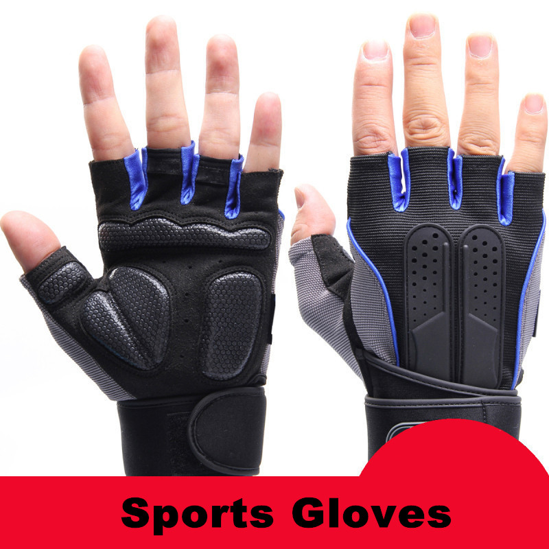 Sports Gym Gloves Half Finger Breathable Weightlifting Fitness Gloves Dumbbell Men Women font b Weight b
