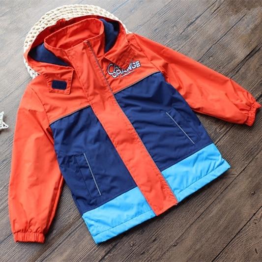 children/kids/boys autumn/spring warm fleece lined jacket, waterproof/windproof hooded jacket, autumn coat, size 86 to 146