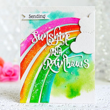 цена DiyArts Sunshine Rainbows Clouds  Photopolymer Stamp Cutting Dies  For DIY Scrapbooking Paper Festival Cards Making New 2018 онлайн в 2017 году