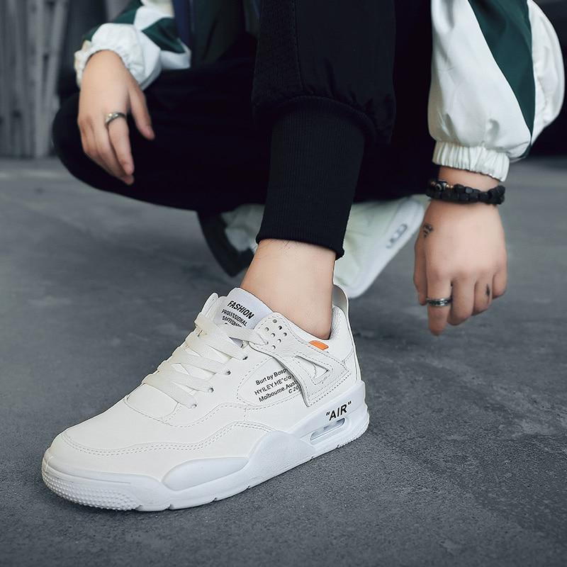 Nouveaux black 2018 Tendance De White Version grey Chaussures Hommes amorti Étudiants Sport Hiver Coréenne Des Hover 15d6wqqx