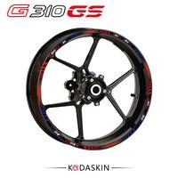 KODASKIN G310GS Motorcycle Wheel Decals 12rim Stickers Set For Bmw G310 GS G310GS 19 17 Stripes