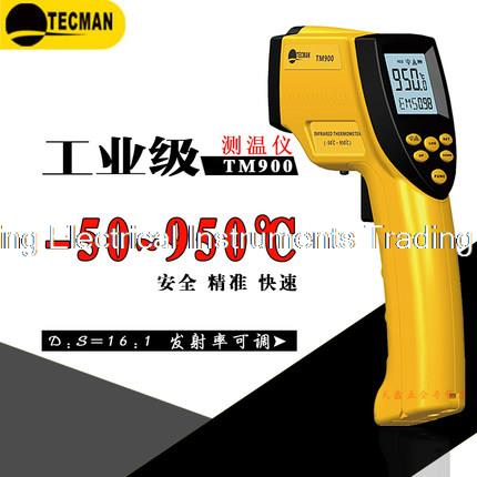 Industrial Medium Temperature Infrared Thermometer TM900 pyrometer Outdoor thermometer Temperature controller Range is -50-950C  цены