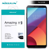 For Lg G6 Tempered Glass Screen Protector 5 7 Inch Nillkin H Pro 2 5 D