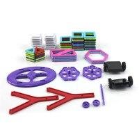 72pcs Wheels Set Blocks Toy Bricks 3D MAGNETIC BUILDING TOY Magnet Block Building Creative Toys mini size For Kids F17335