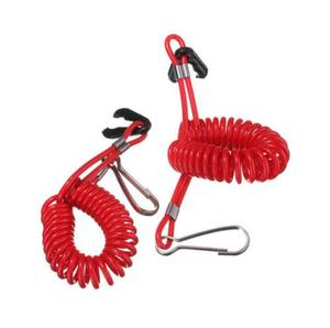 Image 1 - JETTING New 1PC Boat Outboard Engine Motor Lanyard Kill Stop Switch Safety Tether  9.8cm
