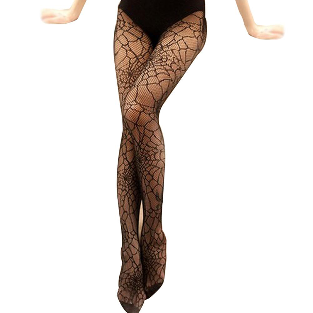 Sexy Spider Web Tights Halloween Witch Fancy Costume Accessory
