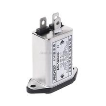 IEC320-C14 IEC фильтр гнездо панель крепление линии электропитания EMI фильтры MAR18 Прямая поставка